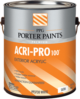 Acri Pro Acrylic Paint From Ppg Porter Paints