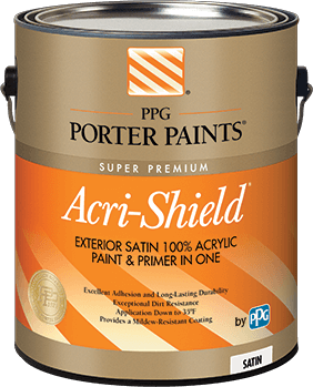 Exterior paints from ppg porter paints - Acrylic paint exterior plan ...