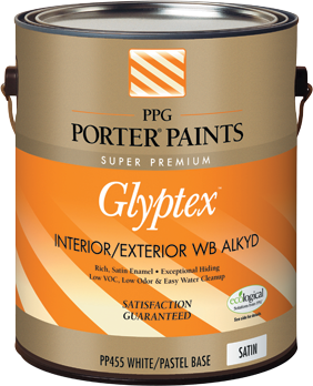 Specialty interior from ppg porter paints for Porter exterior paint