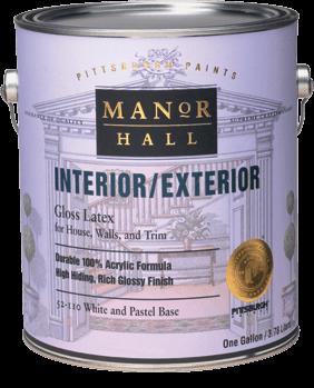 Manor Hall® Interior/Exterior Paint