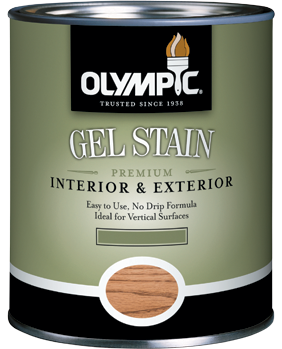 Olympic<sup>®</sup> Gel Stain from PPG Porter Paints®