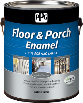 ppg floor porch paint from ppg porter paints