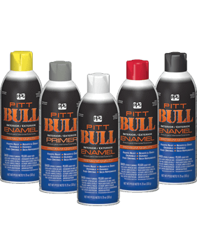 Pitt Bull® Interior/Exterior Spray Enamel Paint