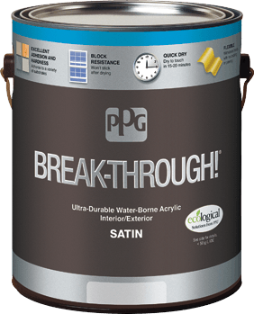 Break-Through!® Interior/Exterior Paint
