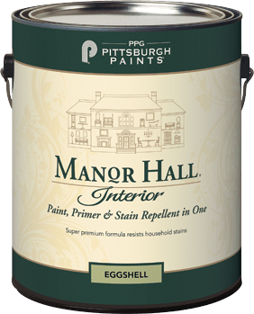 manor hall® interior latex paint
