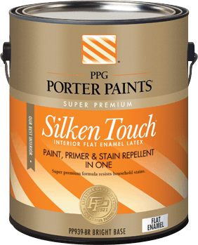 silken touch® interior latex paint