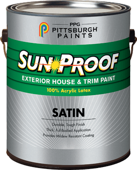 Sun Proof® Latex Exterior Paint