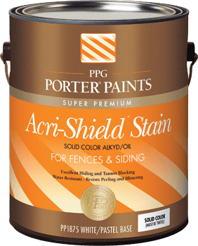 acri-shield® solid color alkyd/oil stain