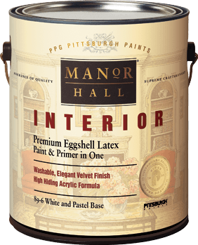 Ppg pittsburgh paints manor hall interior paint for Homedepot colorsmartbybehr com paintstore