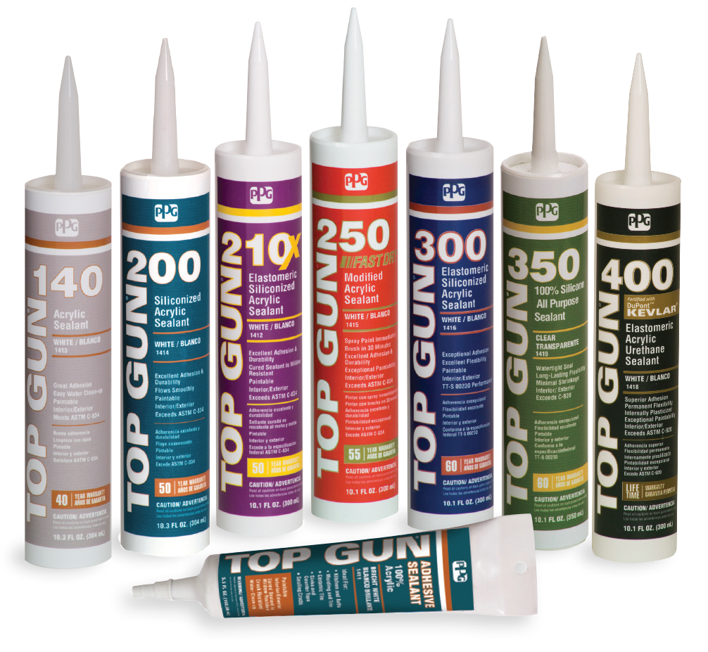 Top Gun® Caulks and Sealants