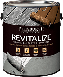 Revitalize Wood and Concrete Resurfacer from Pittsburgh Paints and ...