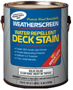 Weatherscreen® Exterior (Solid Color) Stain