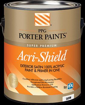 acri-shield® exterior acrylic paint