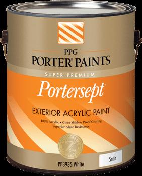 portersept® exterior acrylic paint