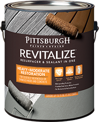 Revitalize® Heavy to Moderate Wood and Concrete Resurfacer