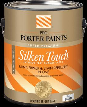 silken touch® interior latex paint