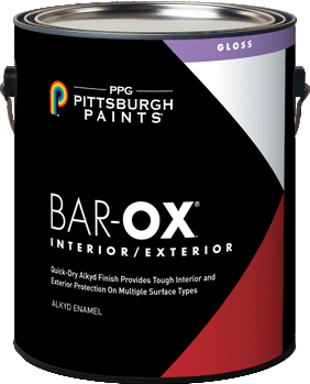 Bar-Ox.® Interior/Exterior Alkyd Enamel Paint