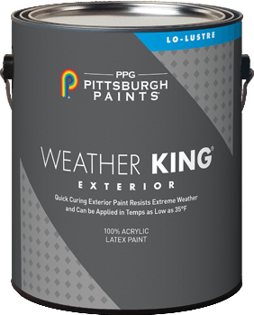 Weather King® Exterior Acrylic Latex Paint