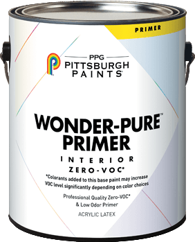 Wonder-Pure™ Zero-Voc* Interior Latex Primer