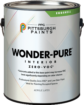 Wonder-Pure™ Zero-Voc* Interior Latex Paint