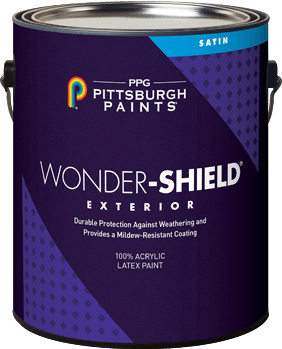 Wonder-Shield® Exterior Acrylic Latex Paint