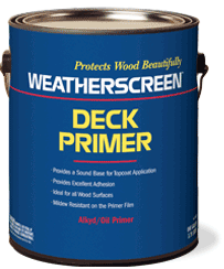 weatherscreen exterior deck primer protects decks for a beautiful ...