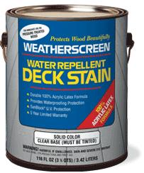 Weatherscreen Exterior Latex Paint